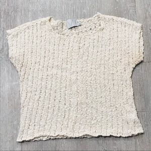 Michael Stars By Anthropologie Crochet Knit Top